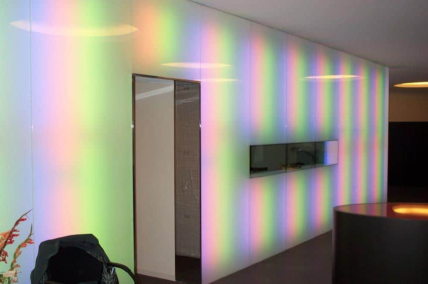 Murs lumineux - Banque Raiffeisen